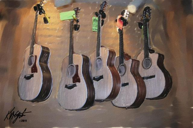 5 Guitars