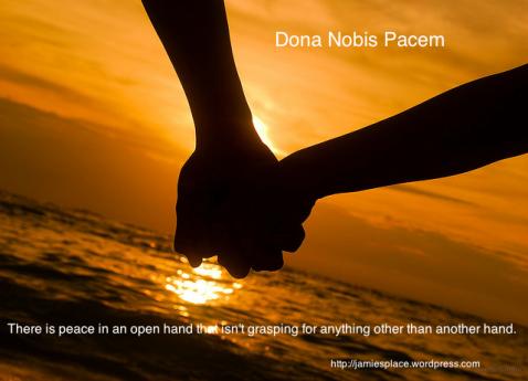 Dona Nobis Holding-Hands