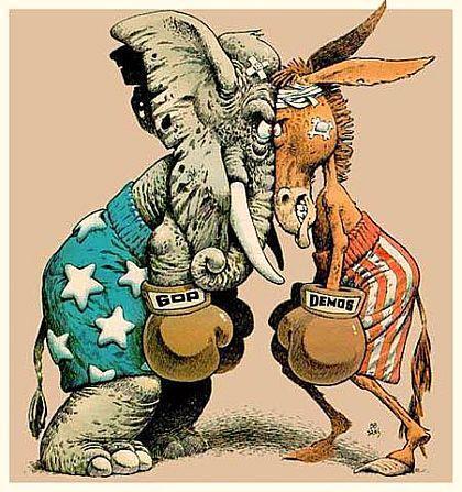 donkey-elephant-fighting